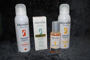 Produkter från Allpresan